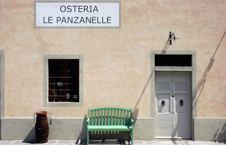 Le Panzanelle, an excellent restaurant in Chianti