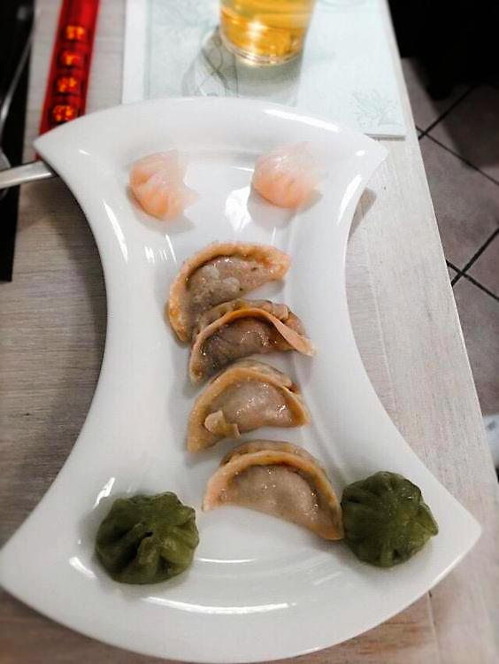 Steamed dumplings of I Fiori Di Hong Kong San Casciano